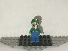Lego Custom: Weegee (Captain Crafter) Tags: lego meme memes halloween custom weegee mario is missing ytp youtube poop malleo luigi luigis mansion smg4 supermarioglitchy64 videogame videogames game games