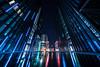 matrix reloaded (Rafael Zenon Wagner) Tags: sony a7rii voigtländer vc 10mm ultrawideangle super weitwinkel architektur archtecture nacht night reflections spiegelungen blau blue germany deutschland düsseldorf nrw lichter lights