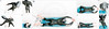 Tub Diving (llbdevu) Tags: wetsuit neoprene speedo triathlon tub water shower boy men tight shiny rubber hood blue white black posing unitard catsuit lycra spandex llb skinsuit bulge encasement