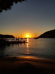 Port d'Andratx, Mallorca (leonvanlaarhoven1987) Tags: sunset mallorca port andratx spain holiday vacation cell photo phone photography travel camera picture sun water boat boats
