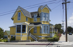 Monterey victorian architecture (LunarKate) Tags: us usa united states america unitedstates unitedstatesofamerica ca california west coast westcoast architecture victorian house home building nikon d40 dslr may 2016