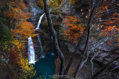 CASCADA DE LA CUEVA (fran.llano) Tags: ordesa pirineos cascada otoño landscapes waterfalls waterfall amazing autumn