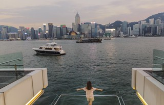 Beautiful view from where I stand - HongKong Trip