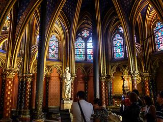 photo - Lower Chapel, Sainte-Chapelle, Paris