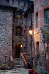 Exploring Dean Village in Edinburgh (ola_er) Tags: dean village edinburgh old building architecture scotland morning october autumn