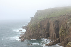 Land's End (pineapplepitzer) Tags: landscape fog cliffs ocan