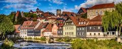 Kronach - Upper Franconia, Germany (dejott1708) Tags: kronach upper franconia hdr panorama cityscape haslach fortress houses river