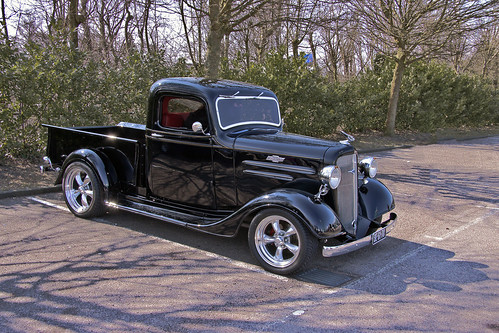 Chevrolet FC Series Pick-Up Truck 1936 (2307)