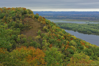 October View of the Mississippi River