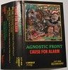 agnostic front - cause for alarm - cassette tape (X2N) Tags: agnosticfront causeforalarm cassette tape metal punk x2n