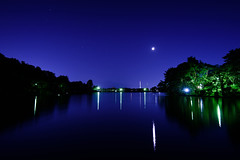 Crescent moon in Autumn (kat-taka) Tags: ã¬ãã