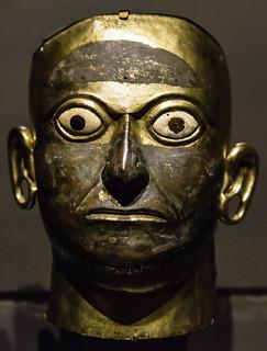 Peruvian Burial Mask