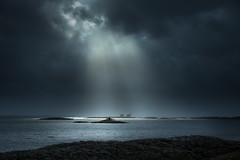 Homborsund lighthouse (Torehegg) Tags: sky norway sjø sea storm northsea austagder fyrtårn fyr lighthouse seascape coastline sørlandet grimstad homborsund