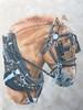 Belgian (tgirlsue) Tags: drawing belgian horse workhorse coloredpencil