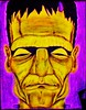 Radiofranktive (KRS-well) Tags: radioactive frankenstein monster karloff movie illustration drawing castle