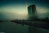 Fog--2 (hanslook) Tags: frankfurtmain fog main rivermain morningmood ecb ezb zentralbank