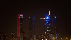 Duerme Madrid (juan_maynar) Tags: madrid nocturna night noche nikonflickraward noctuna juanmaynar landscapes luna torresmadrid cbta
