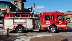 Engine 25 (Central Ohio Emergency Response) Tags: columbus ohio division fire truck engine pumper spartan ferrara
