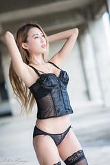 DSC_7362 (Robin Huang 35) Tags: 黃艾比 abbie 彰濱廢墟 彰化 廢墟 內衣 underwear jkf 人像 portrait lady girl nikon d810