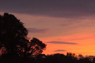 Sunset from Poppy Lane