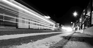York - Gillygate motion blur at street level POV 2