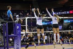 UW USC-FT4I7923 (Pacific Northwest Volleyball Photography) Tags: volleyball ncaa washington usc uwhuskies seattle pac12 pac12vb
