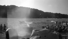 light leak (bergytone) Tags: film bw blackandwhite kodak bantam 828 folding vintage kentmere xtol