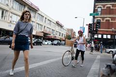 Damen Ladies (Sean Davis) Tags: chicago damen lonewolf bar basket bicycle girls taps women illinois unitedstates us