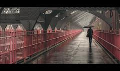 On A Gloomy Afternoon (Nico Geerlings) Tags: ngimages nicogeerlings nicogeerlingsphotography cinematic cinematography streetphotography rain rainy raining williamsburg williamsburgbridge brooklyn manhattan lowereastside newyorkcity nyc ny usa architecture