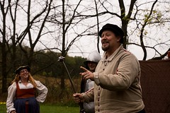 GSM-Bristol at GRR Saturday (Pahz) Tags: gsmbristol historicalreenactment reenactors weapons weaponry edutainment pike sword axe armor agatheringofroguesruffians2017 agatheringofroguesruffians renaissancefaire newglaruswi pattysmithgrr renaissancefairephotographer autumn wisconsin renfaire costuming garb shakespeareontheedge nikon nikond7200 16300mmtamron