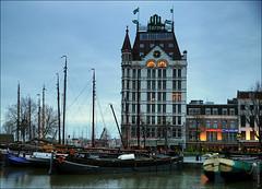 Роттердам, Голландия, Белый дом (zzuka) Tags: rotterdam netherlands роттердам голландия