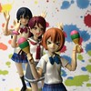 TGIF (Sasha's Lab) Tags: rin hoshizora riko sakurauchi 桜内 梨子 umi sonoda dance conga line high school uniform teen girl maracas figma action figure toy tgif friday