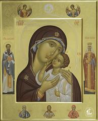 Петровская икона Божией Матери (Умиление)