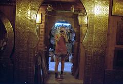 ° (°Bracket) Tags: canonae1p fd35mmf28 morocco marrakech 333bracket 35mm film analogue slr girl mirror reflection protection tattoos self portrait