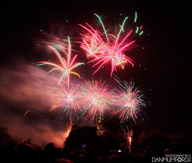 Danson Park Fireworks 2017