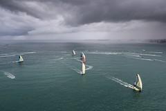 Lisbon stopover. The Mirpuri - HiFly In Port Race. Photo by Ainhoa Sanchez/Volvo Ocean Race. 03 November, 2017.