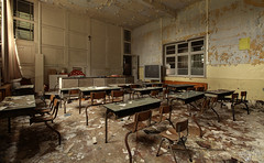 School of Decay (Left in the Lurch) Tags: abandoned school