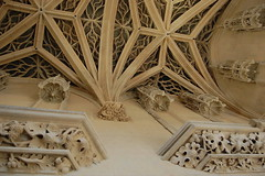 Paris (mademoisellelapiquante) Tags: museedecluny arthistory artmuseum paris france medieval middleages gothicarchitecture architecture ceiling