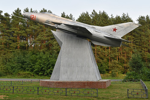 Mikoyan-Gurevich MiG-21F-13 '121 red'