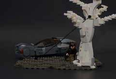 2049 (NS LEGO Designs) Tags: nslegodesigns lego moc creation model build bladerunner2049 bladerunner spinner vehicle futuristic trailer scene scifi harrison ford ryan gosling 2017 officer k