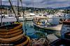 Giorno di riposo (Gian Floridia) Tags: liguria smargheritaligure barche baskets boats ceste day fish fishing giorno harbour mare nofishingday pesca pesce porto riposo sea