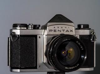 ASAHI PENTAX S1a (1.962) Lens MIR 2,8 37 mm (1.958)
