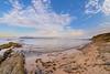 Un cielo azul (sergio estevez) Tags: azul algeciras agua atardecer arena color cielo campodegibraltar estrechodegibraltar ojodepez luz landscape mar nubes orilla paisaje playa parquedelcentenario rocas 8mm sergioestevez