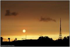 Apocalyptic Sun (seb a.k.a. panq) Tags: sunset apocalypse sun sebastianbakajphotography crystalpalace jupiter martiansky london hurricaneophelia dustysky saharadust apocalypticsun orange