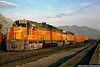 The High Horsepower Race of the 1960s (jamesbelmont) Tags: provo utah emd dd35a sd45 unionpacific freight boxcar