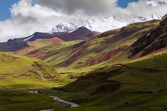 Ausangate, Peru. (J.M.Fransen (jero 053) on/off) Tags: ausangate alititude peru cusco rainbow mountain jero053 jeroenfransen