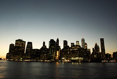 Nyc skyline (FranciscoPisco) Tags: nyc newyork novaiorque nikon1v3 skyline sunset nova iorque