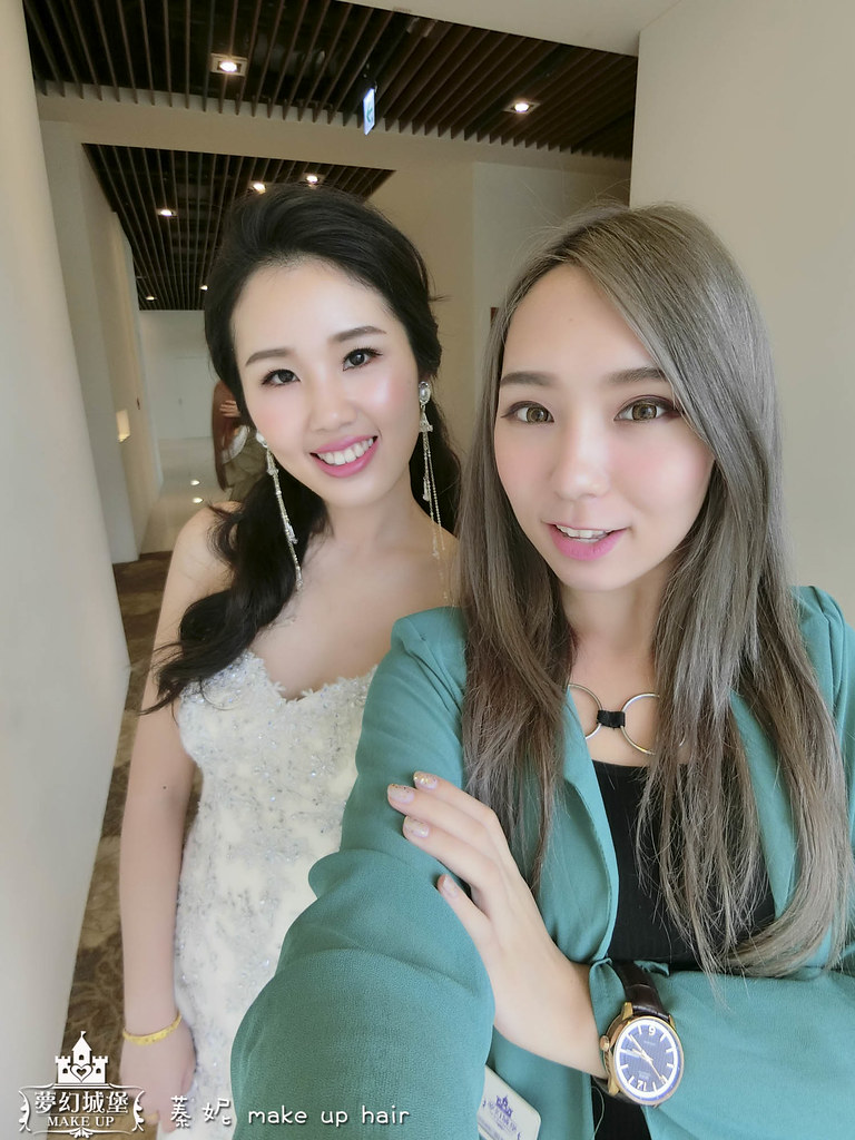 【新秘蓁妮】bride孟樺 訂婚造型 / 彰化全國麗園大飯店