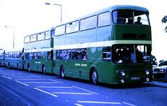 Slide 107-55 (Steve Guess) Tags: epsom downs surrey england gb uk racecourse lcbs london country strathclyde leyland atlantean an alexander 406f