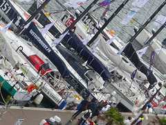 Class 40 ready for transatlantic race (gerrygoal2008) Tags: boat racing regate race class 40 imoca ultime transat transatlantic yatching saling atlantic course large offshore ocean speed competition sail sailing sailors skipper skippers duo